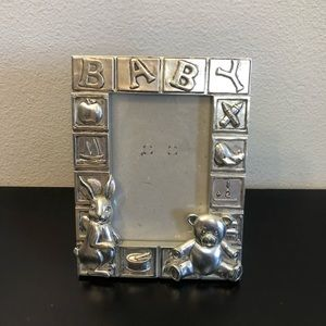 Silver Baby Photo Picture Frame